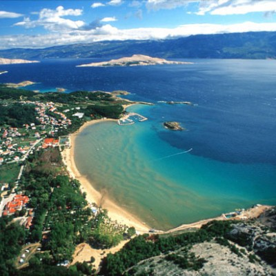Bay in Croatia