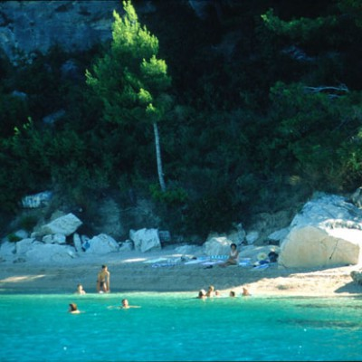Beach in Croatia