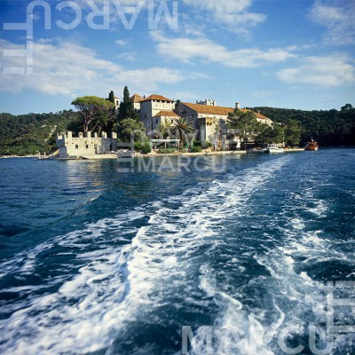 Church of st. Marry - Island Mljet - National Park Mljet