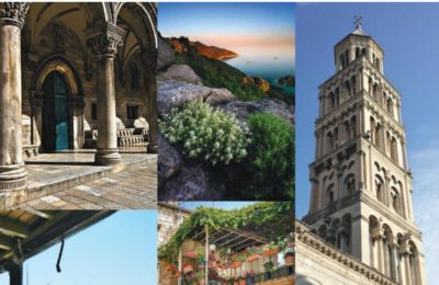 Adriatic discovery cruise destinations photo collage