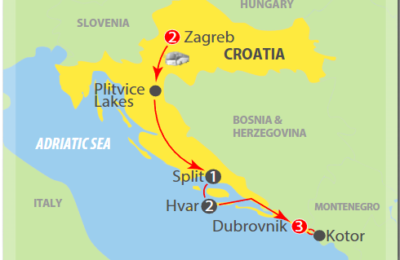 Croatia express adriatic tour 2019
